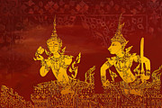 Buddhism Metal Prints - Ancient Traditions  Metal Print by Corporate Art Task Force
