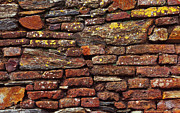 Tiled Photo Prints - Ancient Wall Print by Carlos Caetano