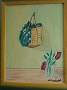 Artur Domenech - And Flower Basket
