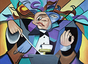 Conductor Prints - Anda One Anda Twoa Print by Anthony Falbo