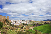 Pueblo Blanco Metal Prints - Andalucia and Ronda Metal Print by Artur Bogacki