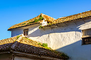 Andalusian Framed Prints - Andalusian Roofs Framed Print by Lutz Baar