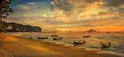 Andaman Sunset Print by Adrian Evans
