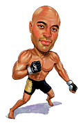 Ufc Paintings - Anderson Silva by Art