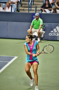 Andrea Petkovic Print by Rexford L Powell