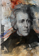 Andrew Jackson Print by Corporate Art Task Force