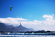 Andries - Redbull King Of The Air Cape Town  Print by Charl Bruwer