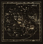 Andromeda Constellations, 1829 Print by Science Photo Library
