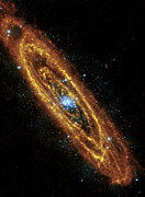 Colorful Photos Prints - Andromeda Galaxy Print by Adam Romanowicz