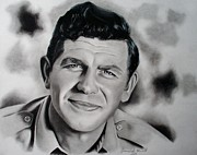Griffith Drawings - Andy Griffith by Samantha Howell