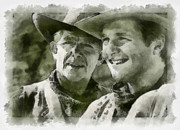 Andy Griffith Posters - Andy Griffiths Western Days Poster by Paulette Wright