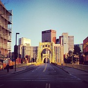 Roberto Clemente Photos - Andy Warhol Bridge by Kassie Jackson