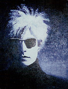 Monotone Paintings - Andy Warhol Cover Reproduction by Mike Manzi