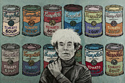 Lint Prints - Andy Warhol Print by Heidi Hooper