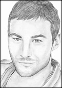 Saki Art Posters - Andy Whitfield  Poster by Saki Art