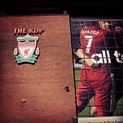 Sports Art - Anfield - Liverpool #football #club by Abdelrahman Alawwad