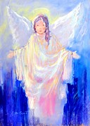 Creature Pastels - Angel 02 by Ivica Petras