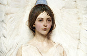 1887 Paintings - Angel 1887 Cropped by Stefan Kuhn