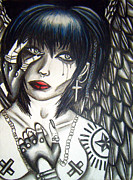 Sad Pastels Originals - Angel by Alyssa Lyne