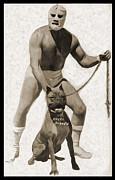 Gregory Dyer - Angel Blanco - Vintage Luche Libre Wrestler