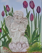Sharon Schultz - Angel in the Garden