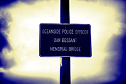 Police Officer Prints - Angel in the Sky Print by Loretta Jean Photography