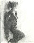 Angel Inside Me Print by Bagira Arts