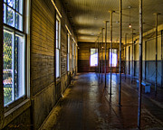 Sausalito Art - Angel Island State Park California - United States Immigration Station - USIS - Detention Barracks by David Rigg