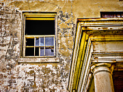 Nike Metal Prints - Angel Island - The Window on Officers Row Housing - San Francisco Bay California - HDR Metal Print by David Rigg