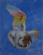Frau Posters - Angel Poster by Michael Creese
