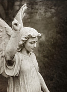 Spirits Photos - Angel of Comfort by Terry Rowe