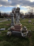 Angel Of Eastern Cemetery Print by Andrew Martin