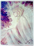Forgiveness Prints - Angel of Mercy 2 Print by Leanne Seymour