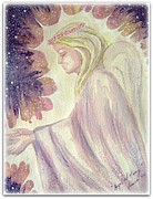 Forgiveness Prints - Angel of Mercy Print by Leanne Seymour