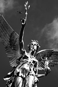 Nike Metal Prints - Angel Of Peace Metal Print by Marc Huebner