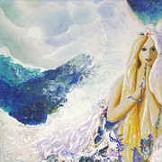Angel Of Peace Print by Valerie Graniou-Cook