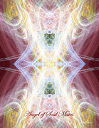 Diana Haronis Acrylic Prints - Angel of Soul Mates Acrylic Print by Diana Haronis