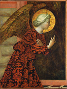 Famous Artists - Angel of the Annunciation by Masolino da Panicale