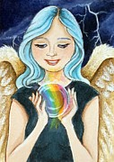 Debrah Nelson - Angel Releasing a Rainbow