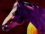 Original Horse Paintings - Angel by Robert Hooper