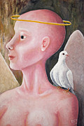 Ruben  Flanagan - Angel with Dove