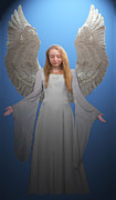 Elleni Kempson Framed Prints - Angelic Angel Framed Print by Eric Kempson