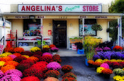 Grocery Store Prints - Angelinas Print by Skip Willits