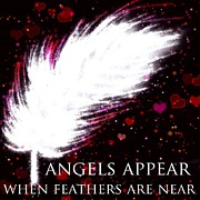 Angelic Drawings - Angels Appear 3 by Karen Larter