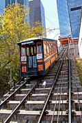Angels Flight Railway Print by Gregory Dyer