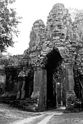 Angkor Thom Prints - Angkor Thom East Gate 01 Print by Rick Piper Photography