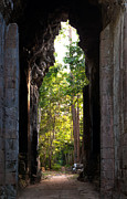 Angkor Thom Prints - Angkor Thom East Gate 04 Print by Rick Piper Photography