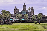 Angkor Prints - Angkor Wat Classic View Print by James Wheeler