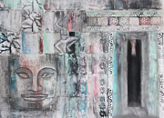 Southeast Asia Paintings - Angkor Wat by Diana Perfect