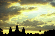 Angkor Prints - Angkor Wat Sunrise 03 Print by Rick Piper Photography